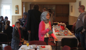Gemeinsames Frühstück am 19.12. in der AWO Am Wall 14